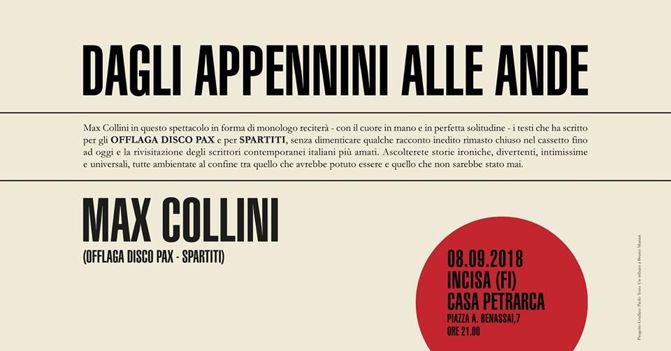 Max Collini a Incisa