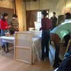 allestimenti a Casa Petrarca per Mostra Bonechi