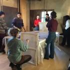 allestimenti a Casa Petrarca per Mostra Bonechi 4