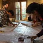 allestimenti a Casa Petrarca per Mostra Bonechi 5