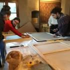 allestimenti a Casa Petrarca per Mostra Bonechi 6